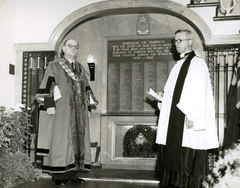 War Memorial dedication
