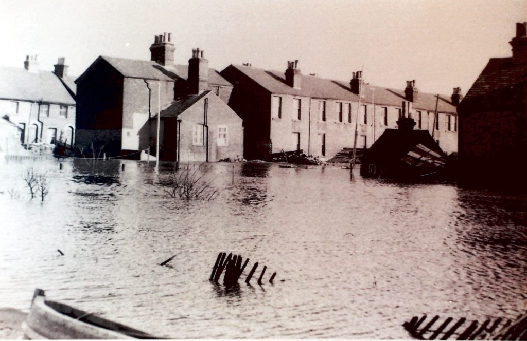 Flooded Harwich