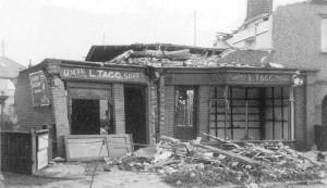 Bomb Damage 1941