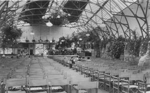 Interior of Cliff Pavilion