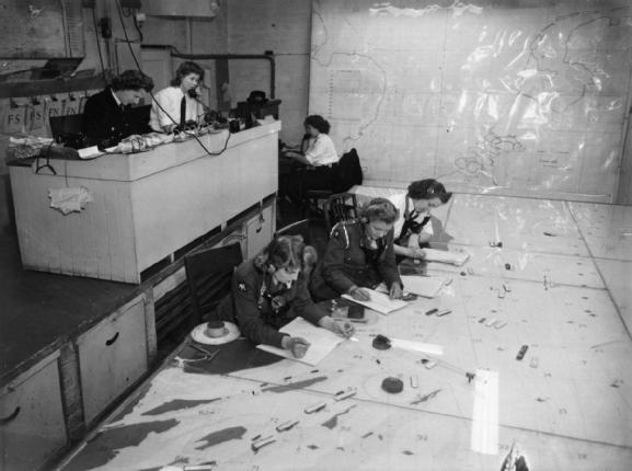 Operations Room.© IWM (A 28937)