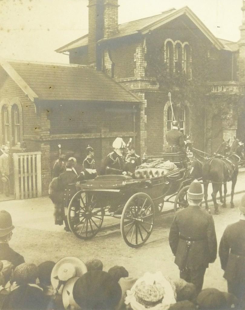 King's visit 1905