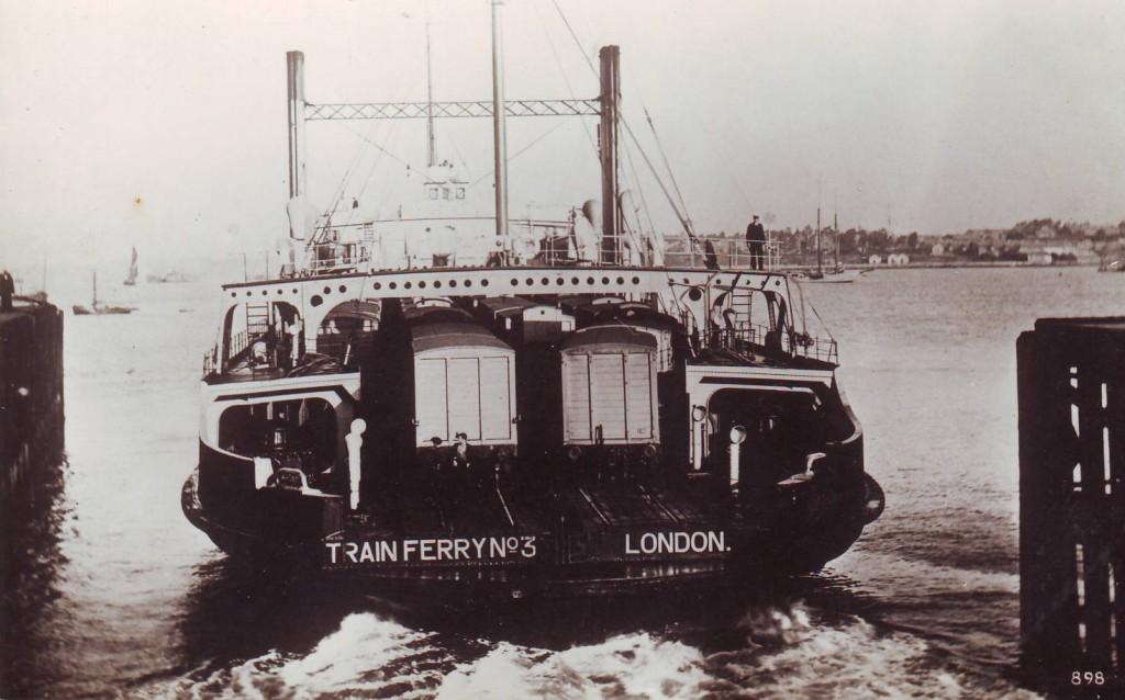 The Harwich Train Ferries | Harwich & Dovercourt | History