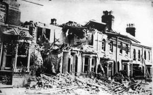 Air Raid Damage 1915
