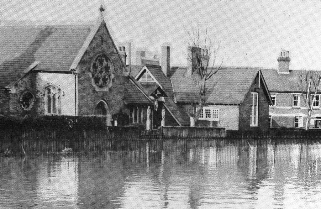 Our Lady Mount Carmel 1953 Floods