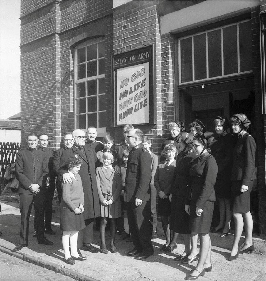Salvation Army visit 1967