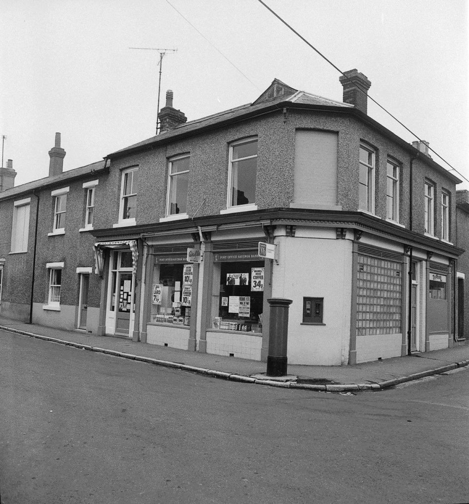 Parkeston post office