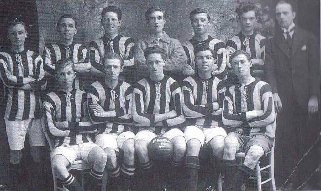 St Nicholas Football Team.