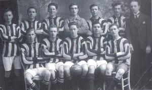 St Nicholas Football Team.
