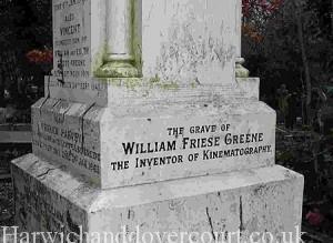 Grave at Highgate Cemetery, London.