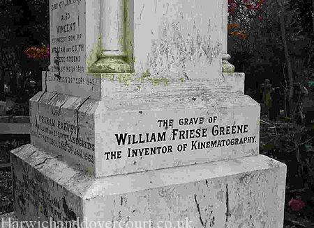 Grave at Highgate Cemetery, London.