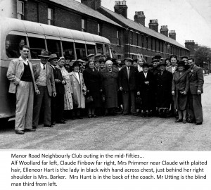 Manor Road Neighbourly Club outing