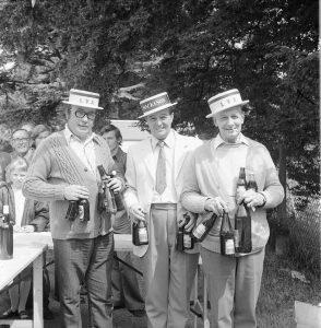 Harry Shean, Pat Hempstead, George Bernard.