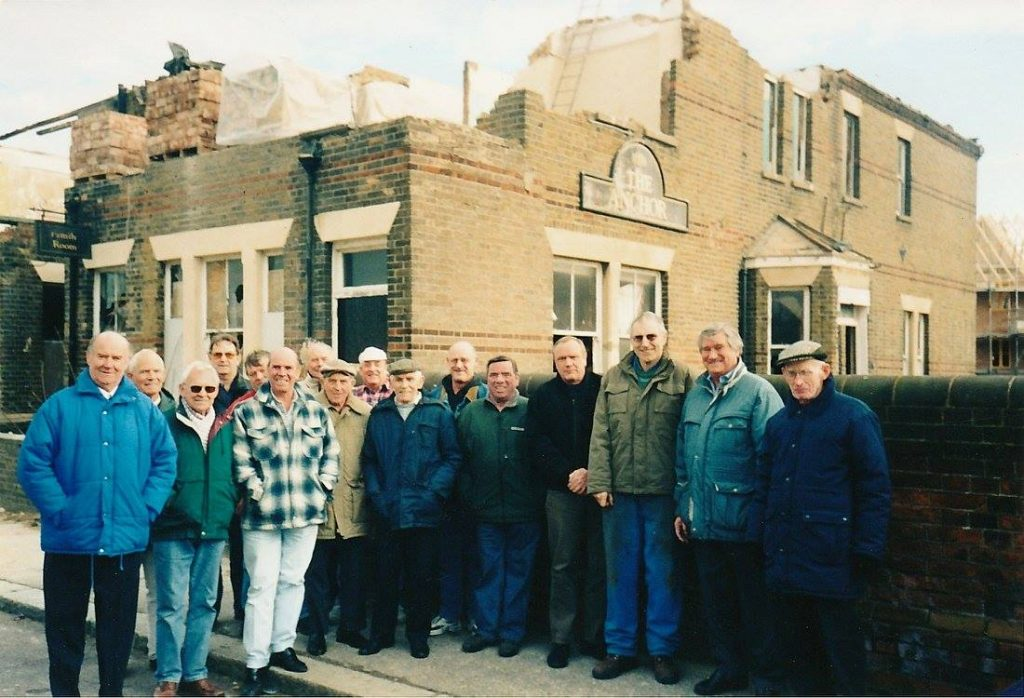 Outside the Anchor 2004