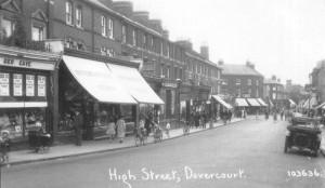 High Street, Dovercourt 1920's