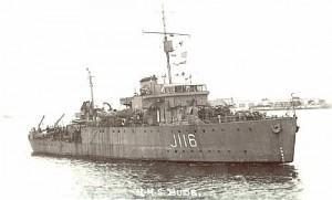 HMS Bude