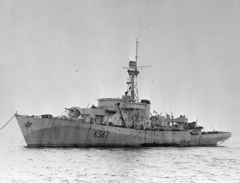 HMS Berkeley Castle