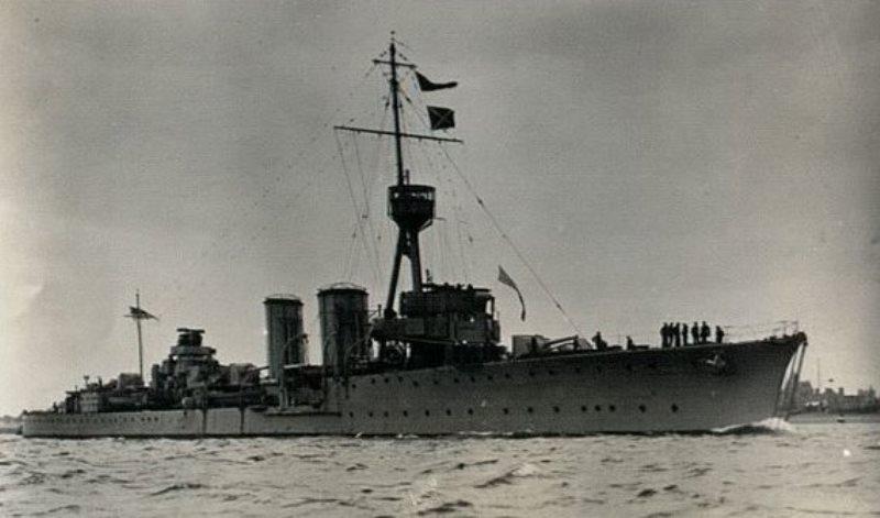 HMS Canterbury