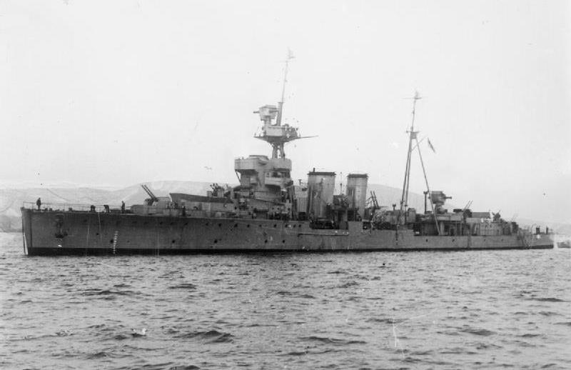 HMS Curacoa. (1941)