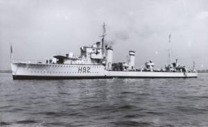 HMS Gloworm