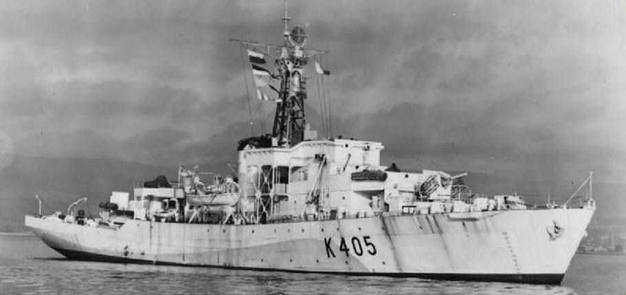 Corvettes – World War 2 | Harwich & Dovercourt | History