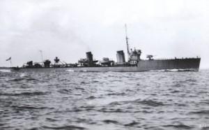 R Class Destroyer