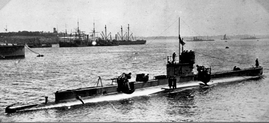 Submarines World War 1 | Harwich & Dovercourt | History